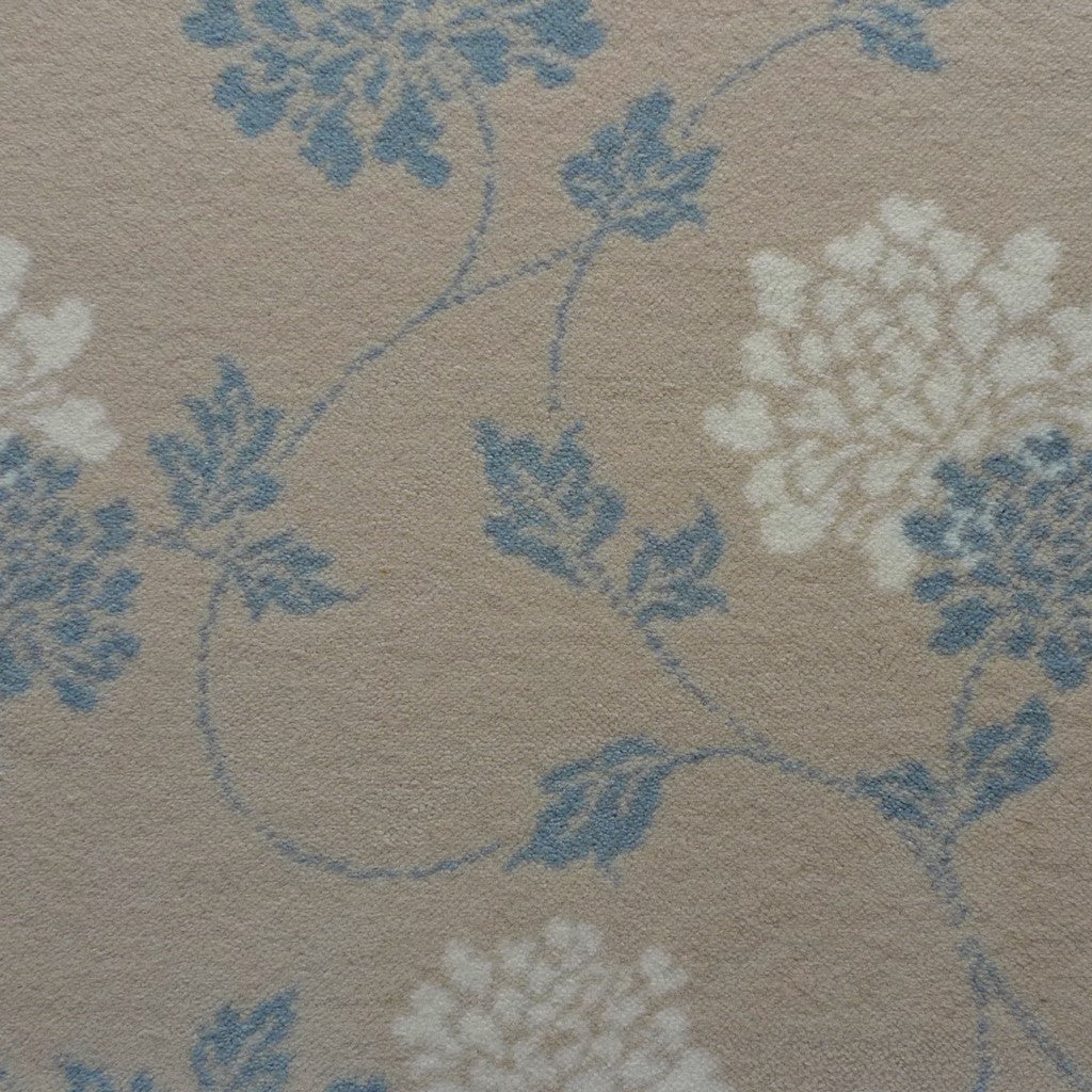 Brintons Carpets Laura Ashley Isodore Duck Egg Carpet