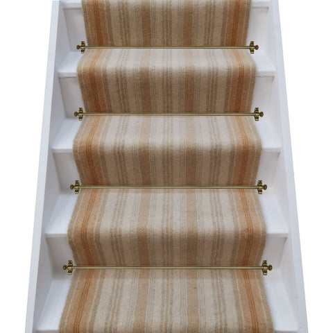Brintons Carpets Laura Ashley Kenilworth Gold Stair Runner