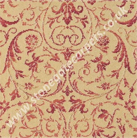Brintons Carpets Laura Ashley Malmaison Raspberry (per M²)