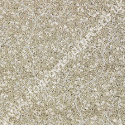 Brintons Carpets Laura Ashley Ryedale Soft Truffle Carpet Remnant 12/50085