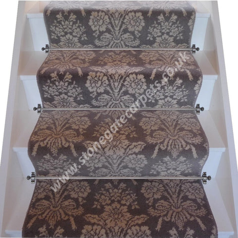 Brintons Carpets Laura Ashley Tatton Truffle Broadloom Stair Runner (per M)