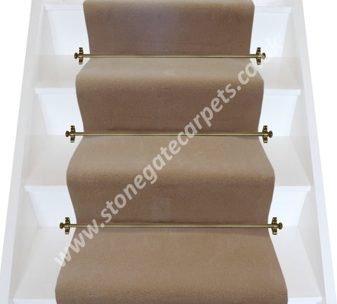 Brintons Carpets Majestic Candlewax Plain Stair Runner (per M)