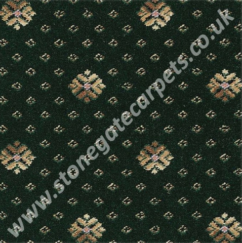 Brintons Carpets Marquis Monarch Green Flake Carpet Remnant