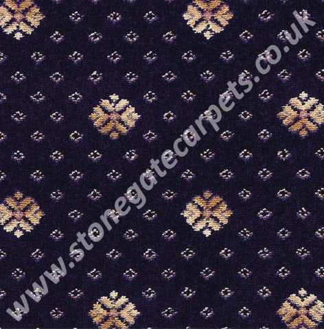 Brintons Carpets Marquis Royal Blue Flake (per M²)
