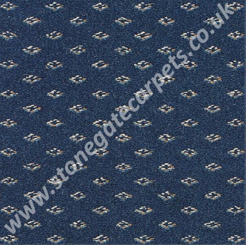 Brintons Carpets Marquis Sovereign Blue Diamond (per M²)