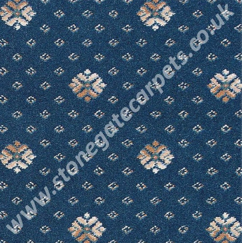 Brintons Carpets Marquis Sovereign Blue Flake (per M²)
