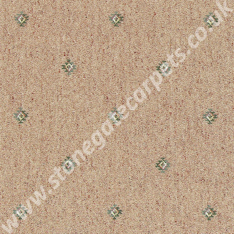 Brintons Carpets Marrakesh Kadiz Beige Carpet Remnant 22/22125