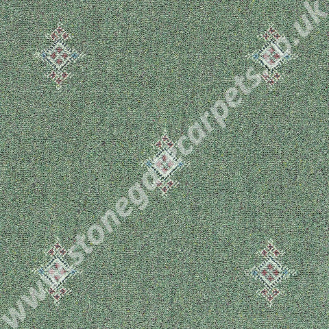 Brintons Carpets Marrakesh Kashmir Jade Carpet 204/22123