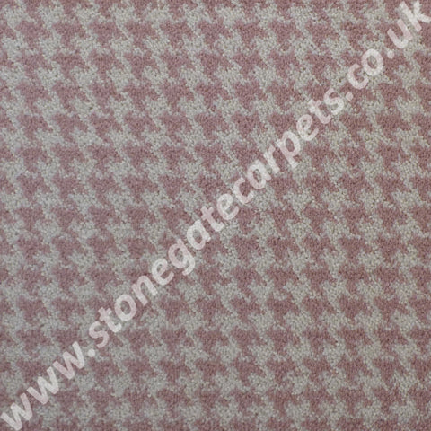 Brintons Carpets Padstow Candy Houndstooth Carpet Remnant 5/50164