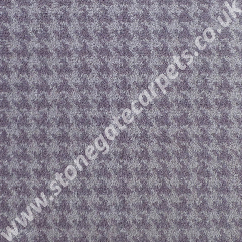 Brintons Carpets Padstow Heather Houndstooth Carpet 9/50164