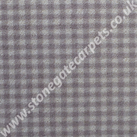 Brintons Carpets Padstow Pebble Gingham Carpet 10/50198