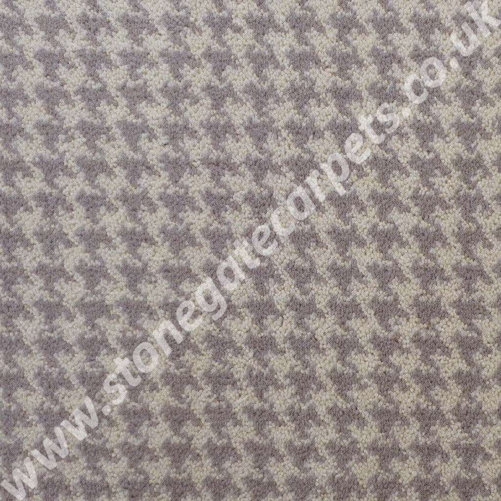 Brintons Carpets Padstow Pebble Houndstooth Carpet 10 50164