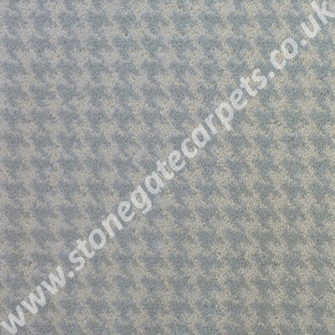 Brintons Carpets Padstow Spearmint Houndstooth Carpet 14/50164