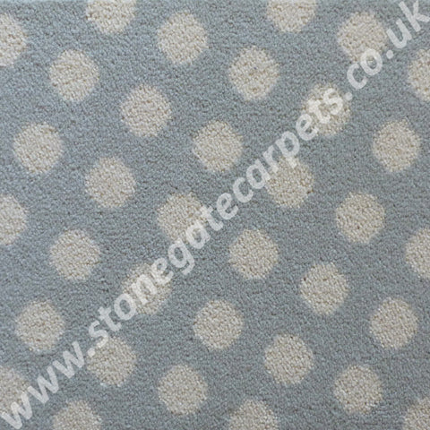 Brintons Carpets Padstow Spearmint Spot Carpet 14/50165