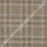 Brintons Carpets Pure Living Earth Plaid 501/29994