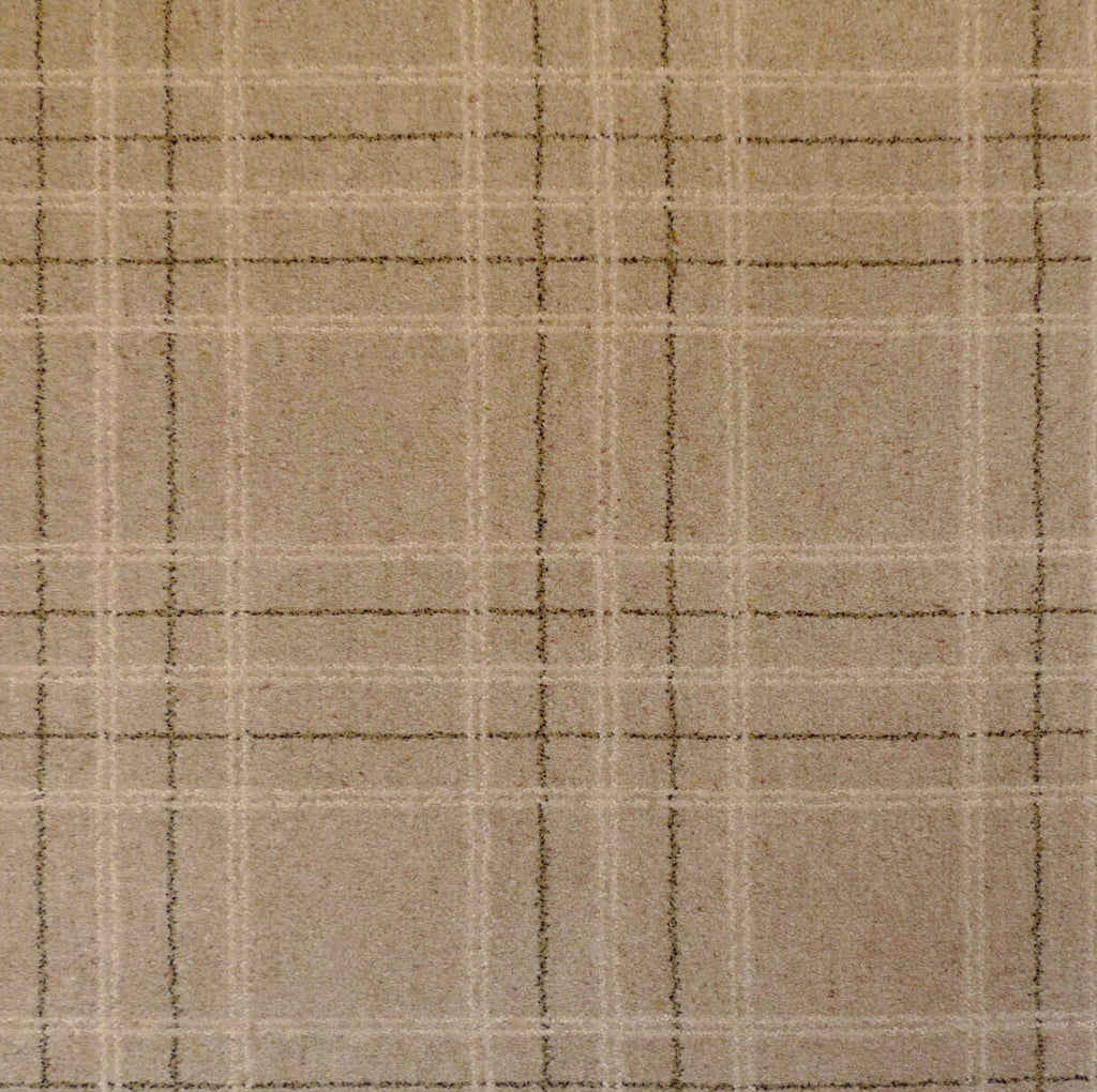 Brintons Carpets Pure Living Earth Plaid Carpet 501 29994