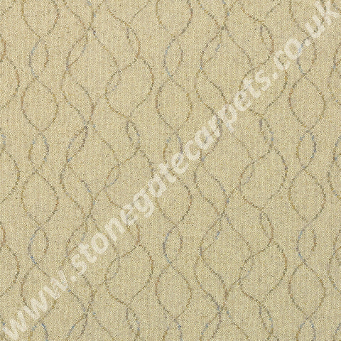 Brintons Carpets Pure Living Sandalwood Wave Carpet Remnant 52/38187