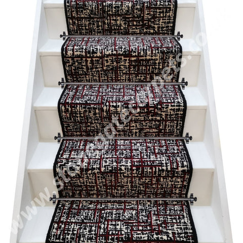 Brintons Carpets Quickweave Retro City Stair Runner (per M)