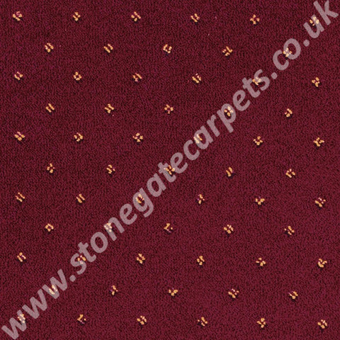 Brintons Carpets Regina Burgundy Point Carpet 31/38499