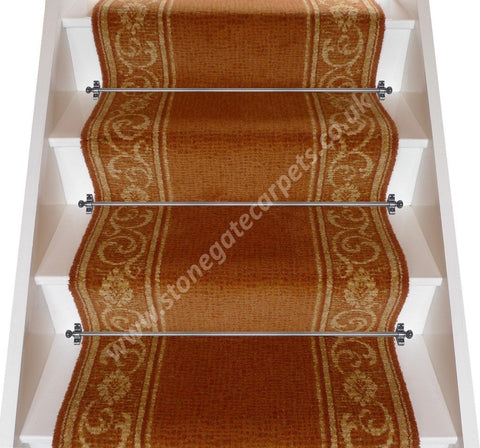 Brintons Carpets Renaissance Rochetta Sienna Stair Runner - 2.95M ONLY. PRICE IS FOR WHOLE PIECE