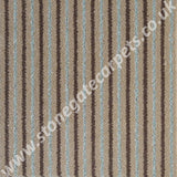 Brintons Carpets Stripes Collection Chocolate Bonbon 2ST/38266