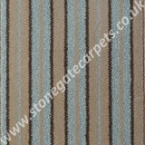 Brintons Carpets Stripes Collection Chocolate Fudge 2ST/38268