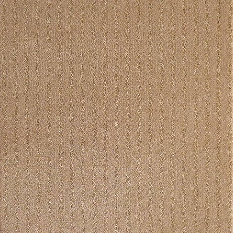 Brintons Carpets Stripes Collection Mink Strand Carpet Remnant 382ST/38265
