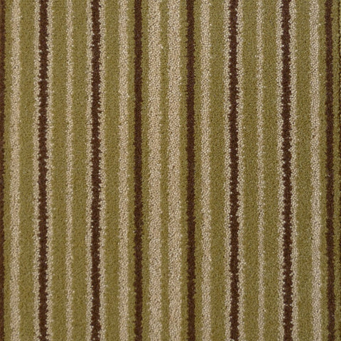 Brintons Carpets Stripes Collection Sherbet Limes Carpet Remnant 8ST/38267