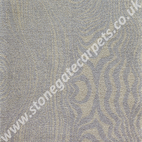 Brintons Carpets Timorous Beasties Platinum Grain Du Bois Carpet 10/50158