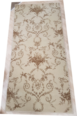 Brintons Carpets Classic Florals Toile Empire Silk 6/27836 (2.24m x 0.91m) - £55.00 inc Free UK Delivery