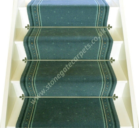 Stoddards Carpets 27 Inch Aquatint Stair Runner - 3.48m ONLY. PRICE IS FOR WHOLE PIECE