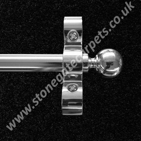 Polished Chrome Heavy Duty Stair Rods