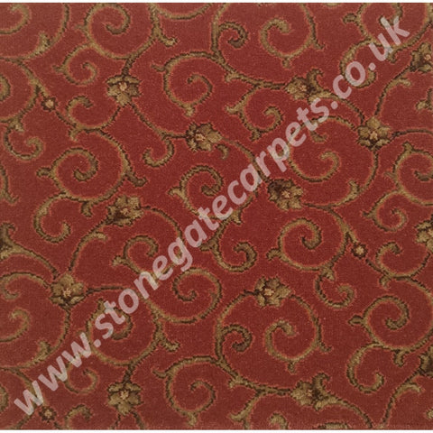 Ulster Carpets Anatolia Scroll Fez 81/2298 (Please Call for per M² Cost)
