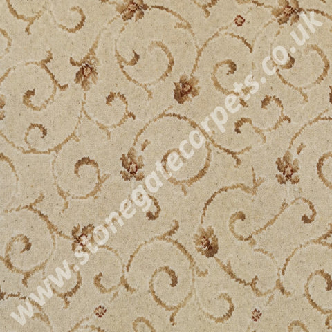 Ulster Carpets Anatolia Scroll Lotus 42/2288 (Please Call for per M² Cost)