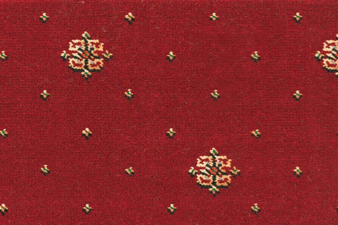 Ulster Carpets Athenia Motif Red 10/2566