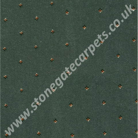 Ulster Carpets Athenia Pindot Green 4/2572 (Please Call for per M² Cost)