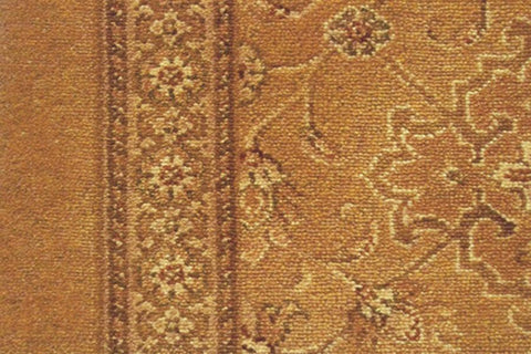 Ulster Carpets Country House Collection Kazan Persian Gold Runner 41/20019 (Please Call for per M² Cost)