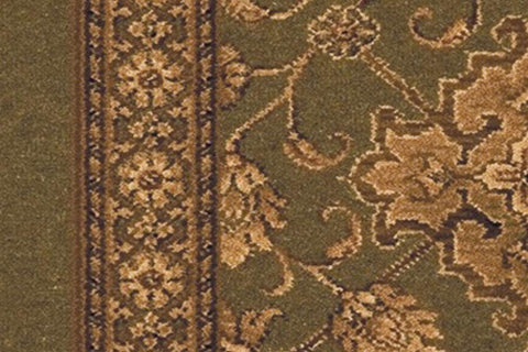 Ulster Carpets Country House Collection Kazan Tench Green Runner 91/20019