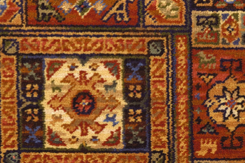 Ulster Carpets Glenavy Ethnic Panel Rust 2/2648