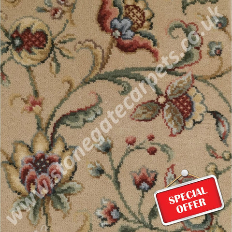 Ulster Carpets Glenavy Hampton Court Carpet Remnant - Less than Retail (Call for Price)