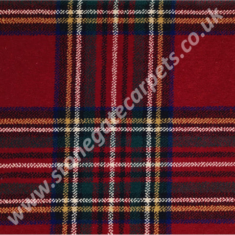 Ulster Carpets Glenmoy Royal Stewart 10/2754 (Please Call for per M² Cost)