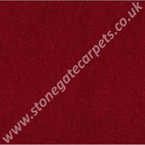 Ulster Carpets Grange Wilton Grenadier Red G1010 (Please Call for per M² Cost)