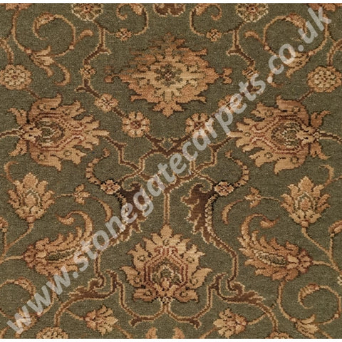Ulster Carpets Country House Collection Kazan Tench Green 91/20018 (Please Call for per M² Cost)