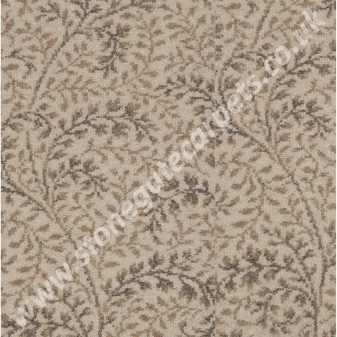 Ulster Carpets Natural Choice Axminster Garland Natural 11/20042 (Please Call for per M² Cost)