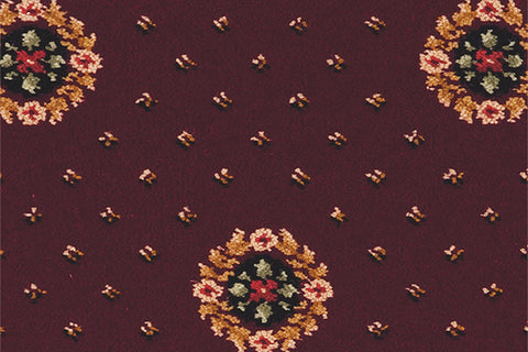 Ulster Carpets Sheriden Cameo Bordeaux 22/2614