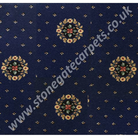 Ulster Carpets Sheriden Cameo Royal Blue 52/2461 (Please Call for per M² Cost)