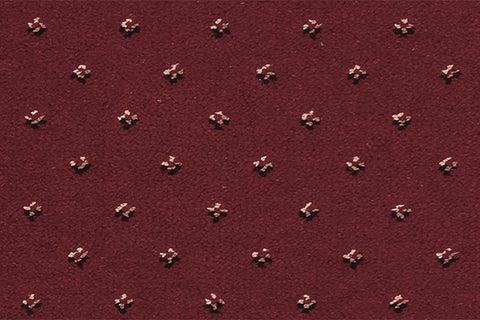 Ulster Carpets Sheriden Pindot Royal Red 10/2462