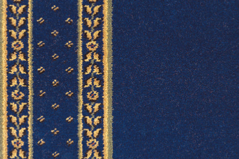 Ulster Carpets Sheriden Royal Blue Runner 52/2605