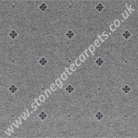 Ulster Carpets Tazmin Motif Blue Grass 92/2628 (Please Call for per M² Cost)