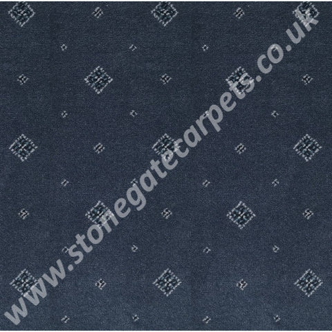 Ulster Carpets Tazmin Motif Prussian 31/2628 (Please Call for per M² Cost)